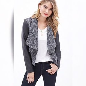 ✨SALE TODAY✨ Forever 21 Wool & Faux Leather Jacket